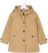 Burberry hooded jacket - kids - Cotton - 4 yrs