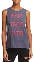 Chaser Taco Graphic Muscle Tank