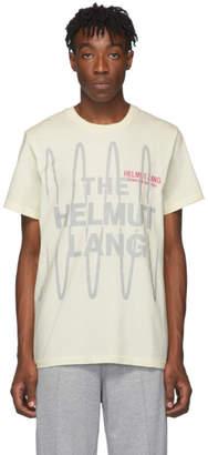 Helmut Lang Off-White Standard Logo T-Shirt
