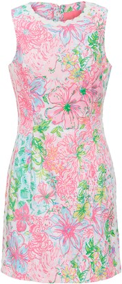 Lilly Pulitzer Mila Sleeveless Stretch Sheath Dress