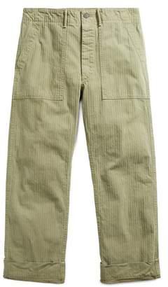 Ralph Lauren Cotton Herringbone Trouser