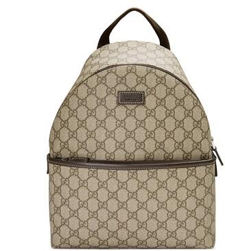 Gucci Children's GG supreme backpack