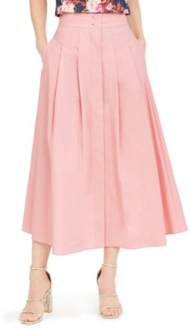 Marella Pleated Midi Skirt