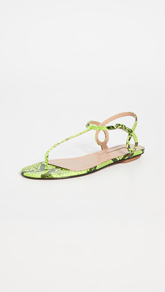 Aquazzura Almost Bare Sandal Flats