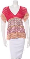Missoni Patterned Knit Top w/ Tags