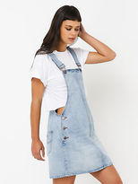 Lee New Pinni Overalls In Vapour Blue Denim Womens Jumpsuits & Dungarees