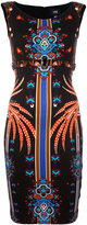 Class Roberto Cavalli patterned fitted dress