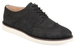 Brinley Co. Comfort Womens Wingtip Lace-up Loafer