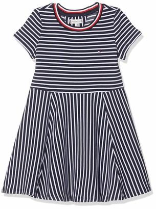 Tommy Hilfiger Girl's Stripe Knit Skater Dress