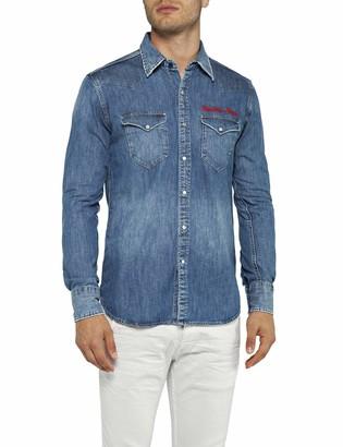 Replay Men's M4981r.000.26c 490 Denim Shirt