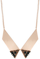 Asos Crystal Collar Tip Necklace
