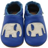 Sayoyo Soft Sole Leather Baby Shoes Baby Moccasins Elephant ( ,18-24 months)