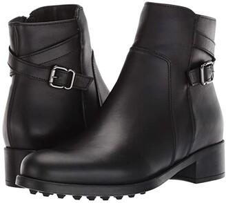 La Canadienne Scorpio (Black Leather) Women's Shoes