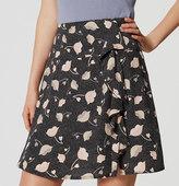 LOFT Floral Fresco Skirt