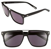 Christian Dior Men's '134S' 58Mm Sunglasses - Black