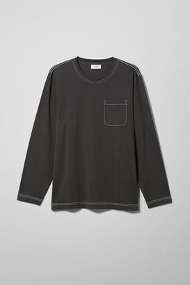 Weekday Jayden Pocket Long Sleeve - Grey