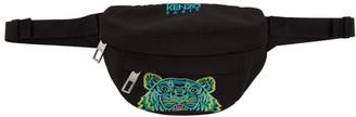 Kenzo Black Mini Tiger Bum Bag