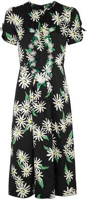 Marc Jacobs Sofia Loves The 40s printed satin midi dress