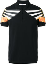 Givenchy graphic print polo shirt