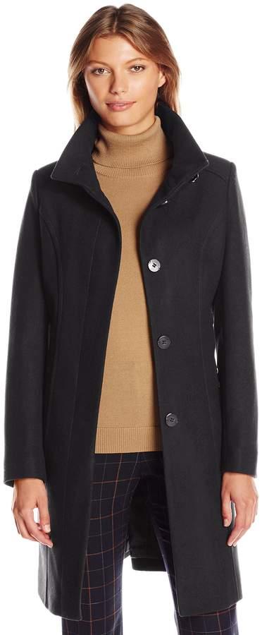 Kenneth Cole New York Women's Walker Wool Coat