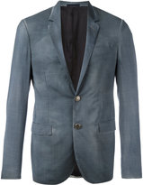 Lanvin faded blazer - men - Cupro/Wool - 44