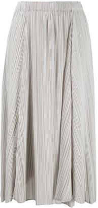 Pleats Please Issey Miyake Elasticated Pleated Skirt