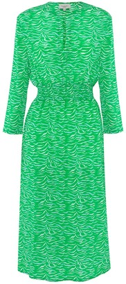 Primrose Park London Tiffany Dress In Tiger