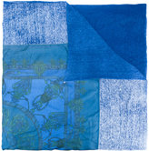 Avant Toi printed scarf - women - Silk/Linen/Flax - One Size
