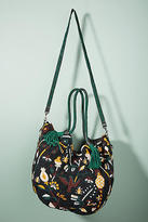 Anthropologie Cabas Beaded Shoulder Bag