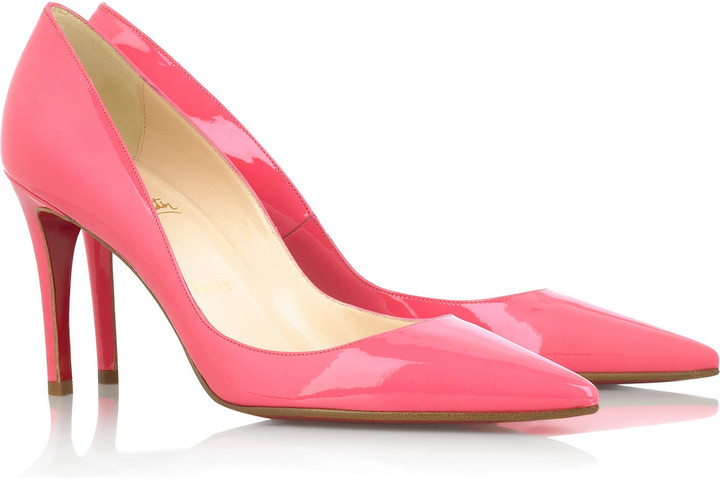 Christian Louboutin New Decoltissimo 85 pointed pumps