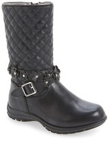 Kenneth Cole New York Toddler Girl's 'Dolly' Quilted Boot