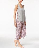 Alfani Tank Top and Capri Pants Pajama Set, Created for Macy's