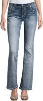 Miss Me Boot-Cut Embellished Pocket Jeans, Medium Was 469