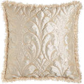 Dian Austin Couture Home Each Neutral Modern Damask European Sham