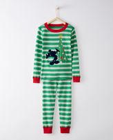 Hanna Andersson Disney Mickey Mouse Long John Pajamas In Organic Cotton
