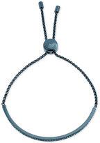 Michael Kors Ion-Plated Crystal Slider Bracelet