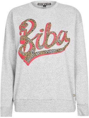 Biba Foil Logo Sweatshirt