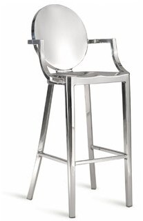 """Everly Quinn Melo Bar & Counter Stool Seat Height: Counter Stool (26"""" Seat Height)"""
