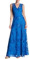 Minuet V-Neck Sequins Dress