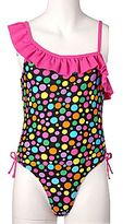 JCPenney Total Girl® Confetti Dot Swimsuit - Girls 4-6x