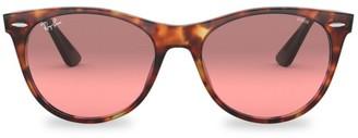 Ray-Ban RB2185 55MM Polarized Wayfarer Sunglasses