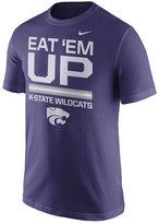 Nike Men's Kansas State Wildcats Cotton Local Verbiage T-Shirt
