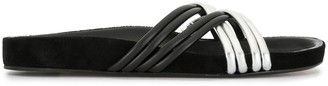 Isabel Marant Crisscross Leather Sandals