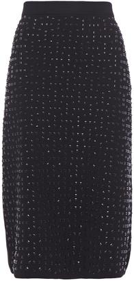 MICHAEL Michael Kors Studded Stretch-knit Skirt