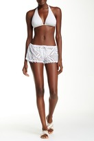 Laundry by Shelli Segal Crochet Short
