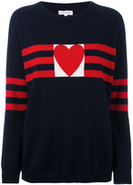 Chinti and Parker cashmere love heart sweater - women - Cashmere - XS