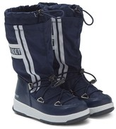 Moon Boot Navy W.E. Waterfall Boots
