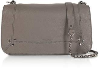 Jerome Dreyfuss Bobi Grey Leather Shoulder Bag
