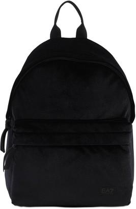 EA7 Emporio Armani Train Velour Backpack