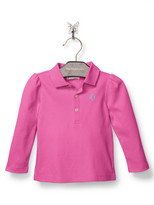 Personalization Baby Girl Polo Shirt